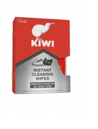 Kiwi Instant Cleaning Wipes, 12 Wipes